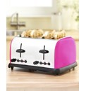 Stainless Steel Colour Block Toaster