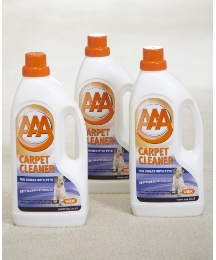 3 Pack Pets 1.5 litre Carpet Solution