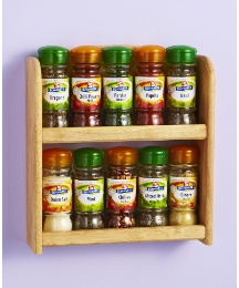 Schwartz Filled Spice Rack