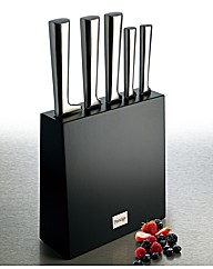 Prestige 6pc Stainless Steel Knife Block
