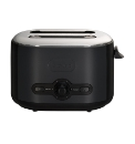 Debut 2 Slice Toaster - Black
