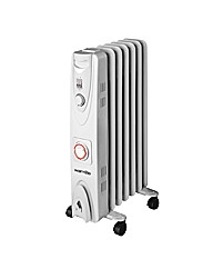 Warmlite 1500W Radiator with Timer