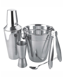 Stainless Steel Cocktail 5 piece Set