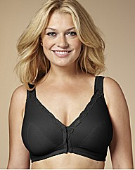 Naturally Close Black Back Smoothing Bra