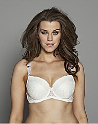 Splendour Diamante Trim Bra