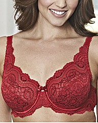 Playtex Underwired Flower Lace Bra