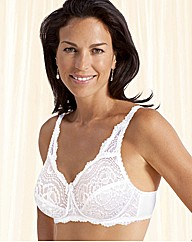 Playtex Flower Lace Non Wired Bra