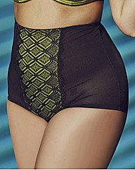 Anna Scholz Lace High Waist Brief