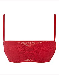 After Eden Red Multiway Bra