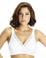 Playtex Pk 2 Non-Wired Lace Bras