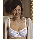 Playtex Flower Lace Balconette Bra