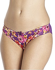 Gossard Botanical Print Brief