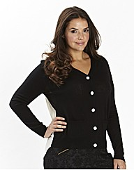 Georgette Back Cardigan