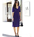 MAGISCULPT Fitted Ruched Dress