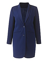 Mix & Match Longline Blazer Length 33in
