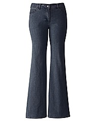 TRULY WOW Bootcut Jeans Length 34in