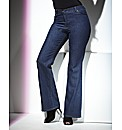 TRULY WOW Bootcut Jeans Length 31in