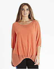 Dipped Side Blouse