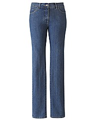 TRULY WOW Slim Leg Jeans Length 27in