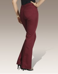 Truly WOW Kickflare Trousers 31in