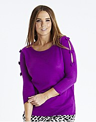 Bow Sleeve Jumper