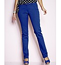 Simply WOW Coloured Slim Leg Jeans 33in