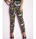MAGIFIT Print Ankle Length Trousers