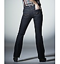 Fit Your Bum Bootcut Jeans Flat Fit