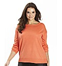 Stepped Hem Jumper