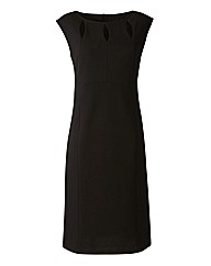 Notch Neck Bodycon Dress