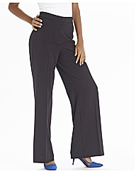 Super Wide Leg Trousers Length 27in