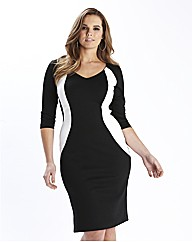 Simply WOW Monochrome Illusion Dress