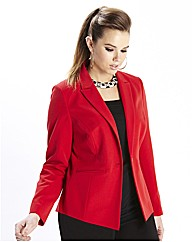 Mix & Match Short Blazer 25in Red
