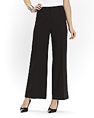 Basic Wide Leg Trousers Length 28in