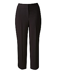 Cropped Slim Leg Trousers Length 21in