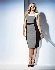 Truly WOW Geo Bodycon Dress