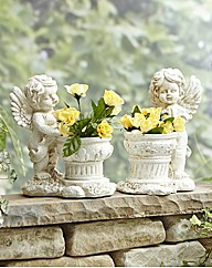 Cherub Planter - Buy 1 Get 1 Free