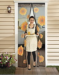 Sunflower Magnetic Door Screen