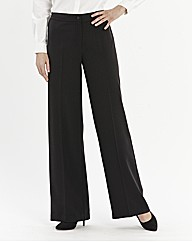 Basic Wide Leg Trousers Length 33in