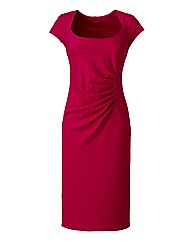 Ruched Side Fitted Dress