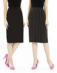Pack of 2 Pencil Skirts