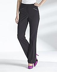 MAGISCULPT Slim Bootcut Trousers