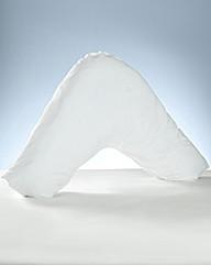 Pair of V Shape Pillow Pillowcases
