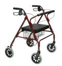 Comfort 4 Wheel Heavy Duty Rollator