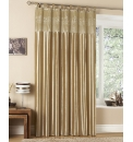 Sparkle Embroidered Tab Top Curtain