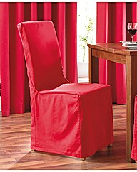 Plain Dye Panama Chair Covers