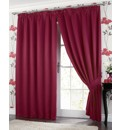 Thermal Blackout Pencil Pleat Curtains