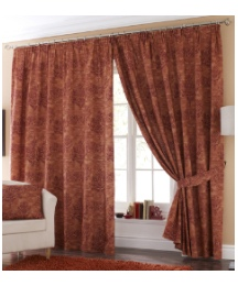 Florence Lined Pencil Pleat Curtains