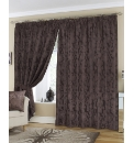 Olivia Lined Jacquard Curtains