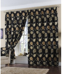 Georgina Panama Pencil Pleat Curtains